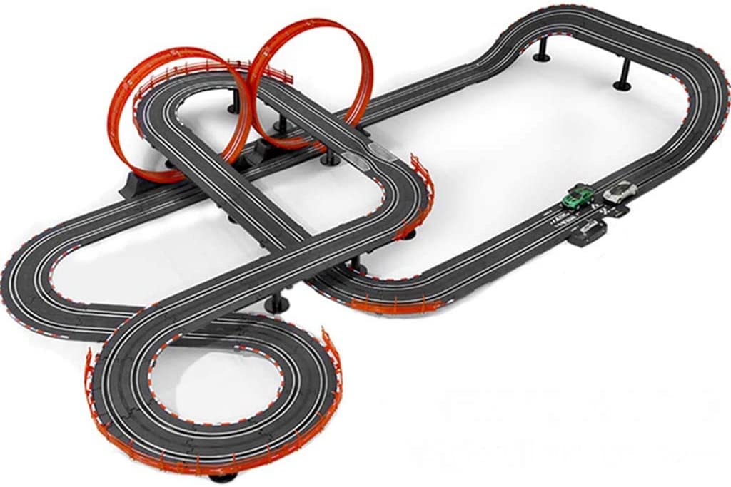 LINGLING Track Racing Toy Large Track Car Competition with Boys