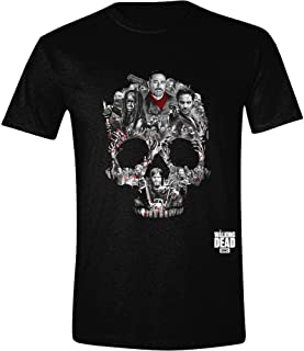 Unisex-Adults The Skull Montage T Shirt (Black)