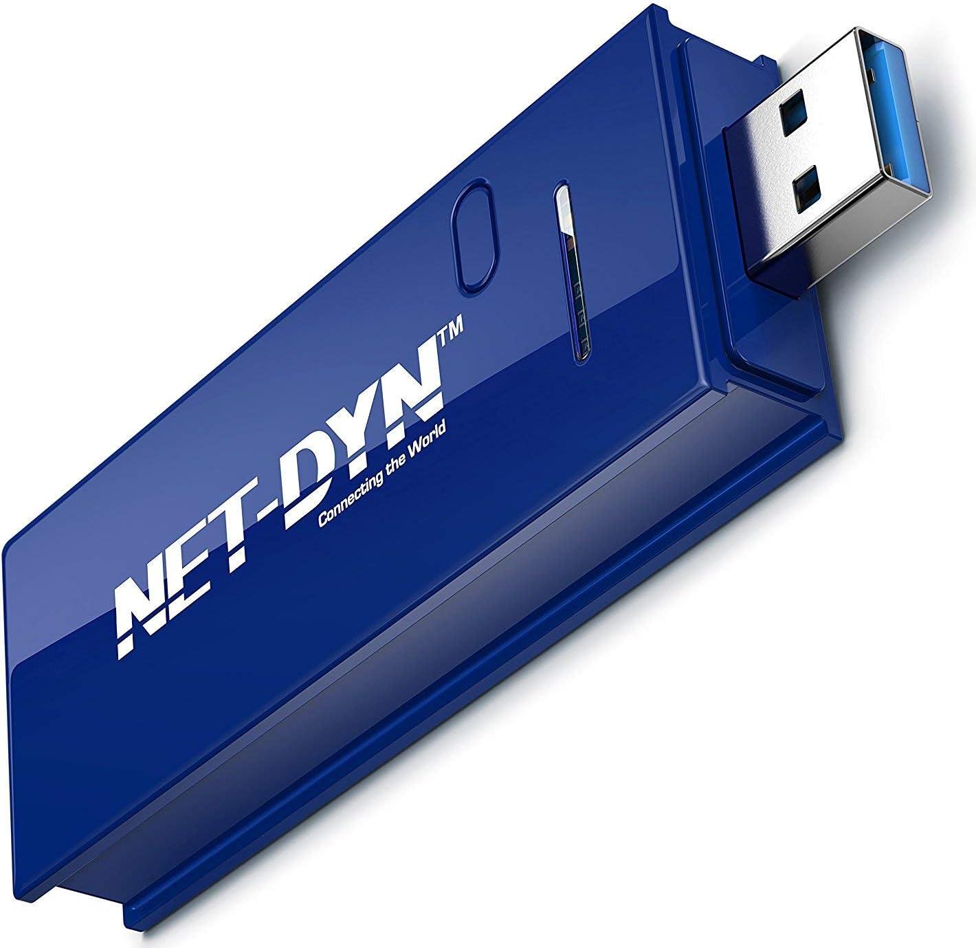 Buy NET DYN USB Wireless WiFi Adapter,AC20 Dual Band, 20GHz and ...
