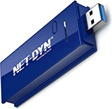 NET-DYN USB Wireless WiFi Adapter,AC1200 Dual Band, 5GHz and 2.4GHZ (867Mbps/300Mbps),..