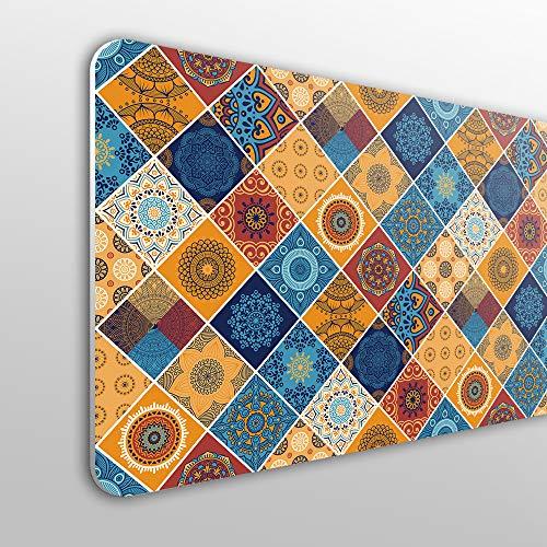 MEGADECOR Cabecero Cama PVC 10mm Decorativo Económico. El Palmar (200 x 60)