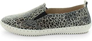 JUST BEE Coble Leopard Size 41 Unisex Sneaker, Leopard, 41 EU