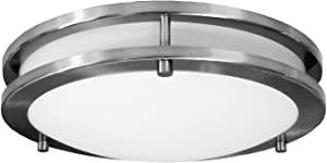"HomeSelects 6102 Light, 12"", Brushed Nickel"