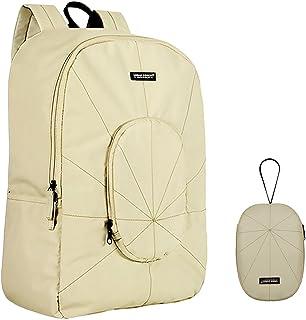 Casual Daypack Backpacks, Urban Forest Wateproof Foldable Blackpack Bag