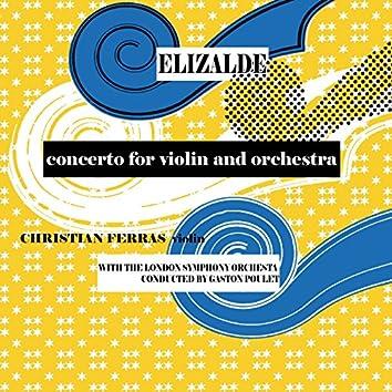 Elizade: Concerto for Violin and Orchestra