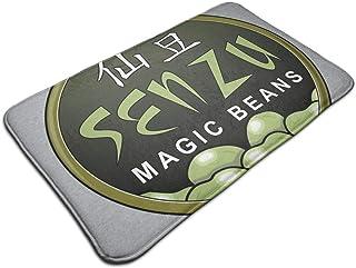 HUTTGIGH Senzu Magic Beans Dragon Ball Z - Felpudo antideslizante para puerta de baño de cocina (19,5 x 31,5 pulgadas)