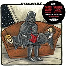 Darth Vader & Son / Vader's Little Princess Deluxe Box Set (includes two art prints) (Star Wars): (Star Wars Kids Books, Star Wars Children's Books, Star Wars Gifts for Kids)