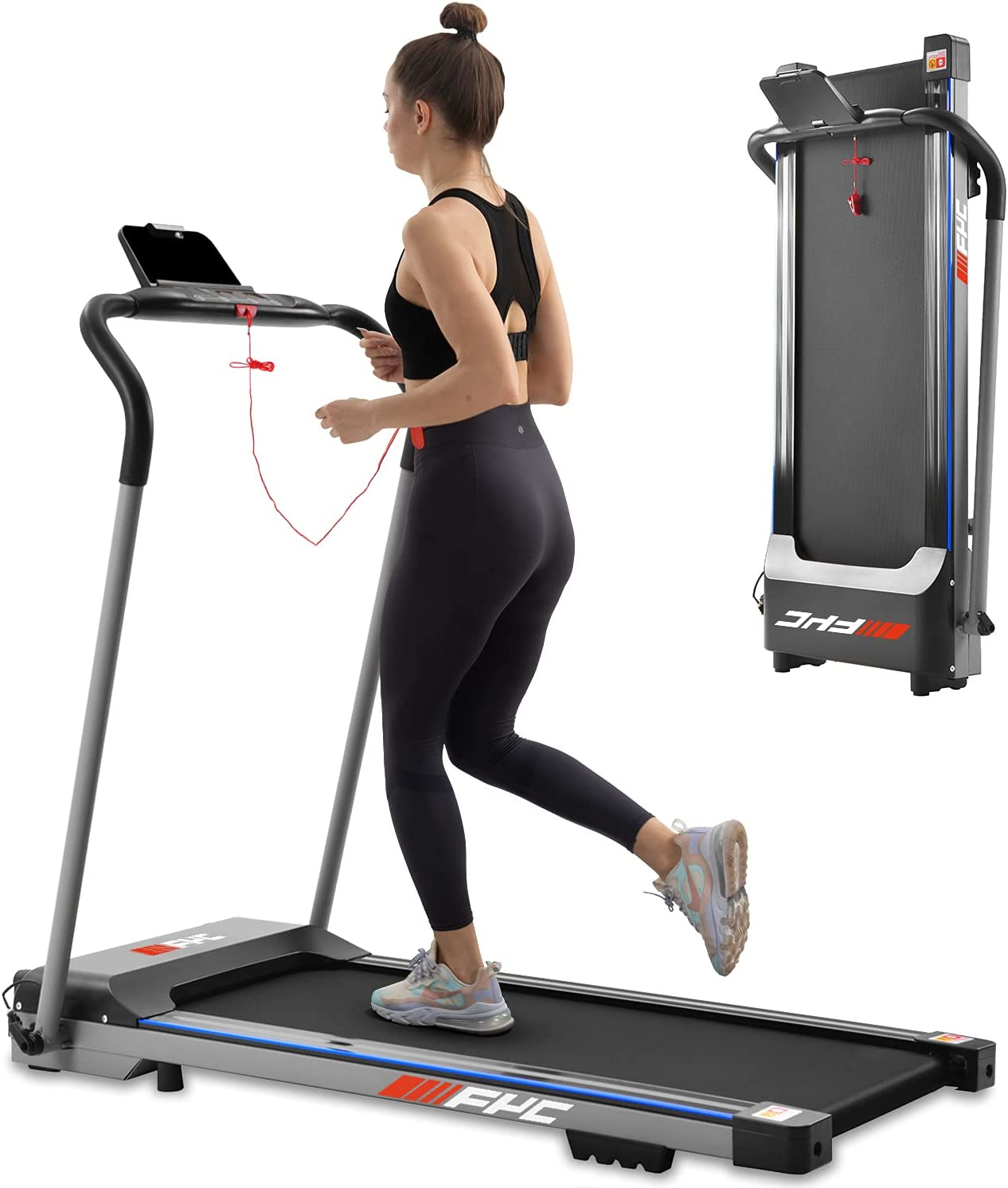 5 ☆ popular FYC Folding Treadmill for Home - Compact Running Machine Po Max 52% OFF Slim