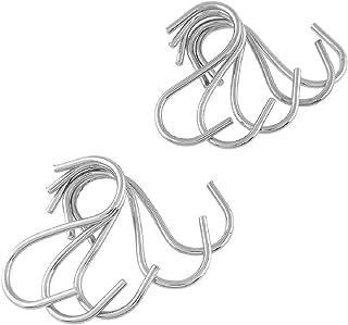 10 pièces Patère Crochet en acier inoxydable en forme de S