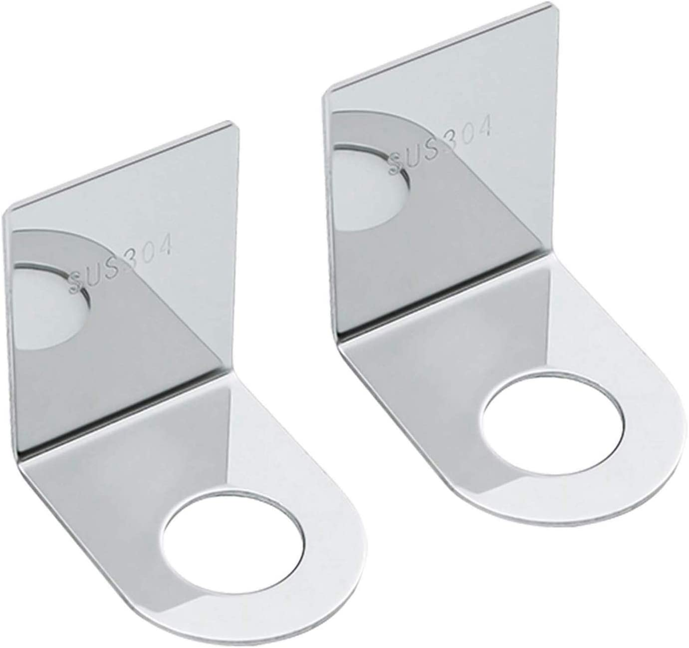 sold out Huante Shampoo Holder Cheap sale Hook Steel Mounted Adhesive for Bottl Wall