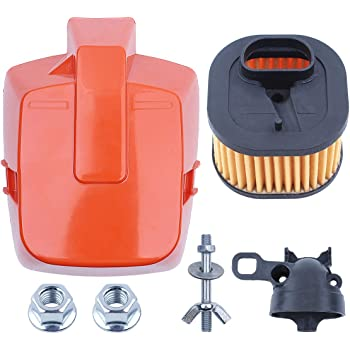 Air Filter/& Air Filter Cover for fit Husqvarna 362 365 371 372 Chainsaws