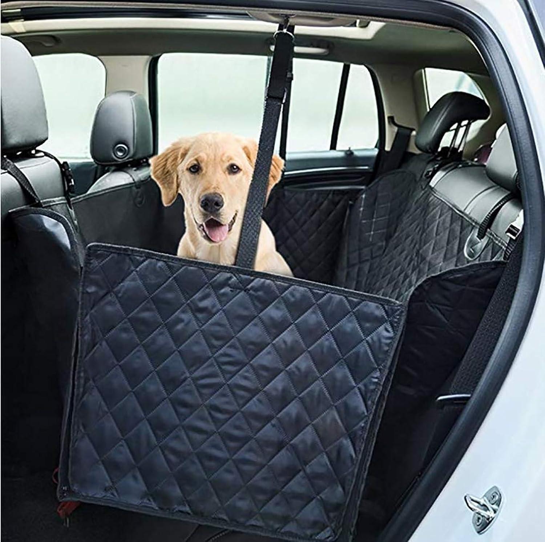 Dog Seat Cover Car Rear Seat Waterproof Wear Pad AntiDirty Pet Black Hammock for Cars Trucks SUVs