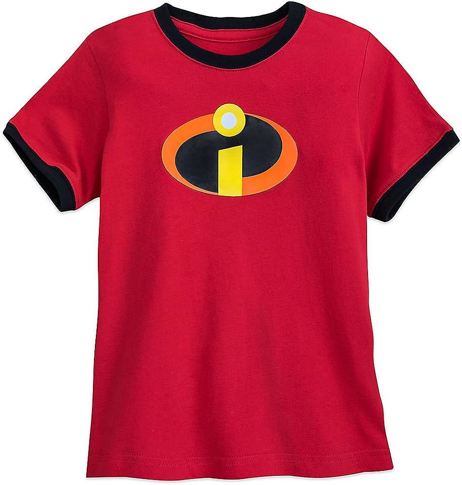 Pixar Incredibles Logo Ringer T-Shirt for Boys Size XS (4)
