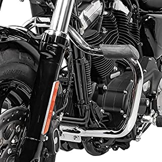 Sturzbügel für Harley Davidson Sportster 883 Superlow 11 20 Mustache Chrom