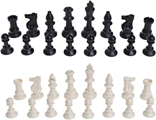 Cicitop Plastic International Chess Pieces Set, 3 Sizes for Choosing, Ideal Gift for Father and Kids. (95 cm)