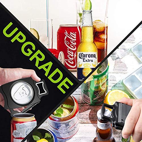Strumento per aprire lattine da cucina per birra, bevande, Go Swing Topless apriscatole strumento di sicurezza, facile manuale con funzione di bloccaggio