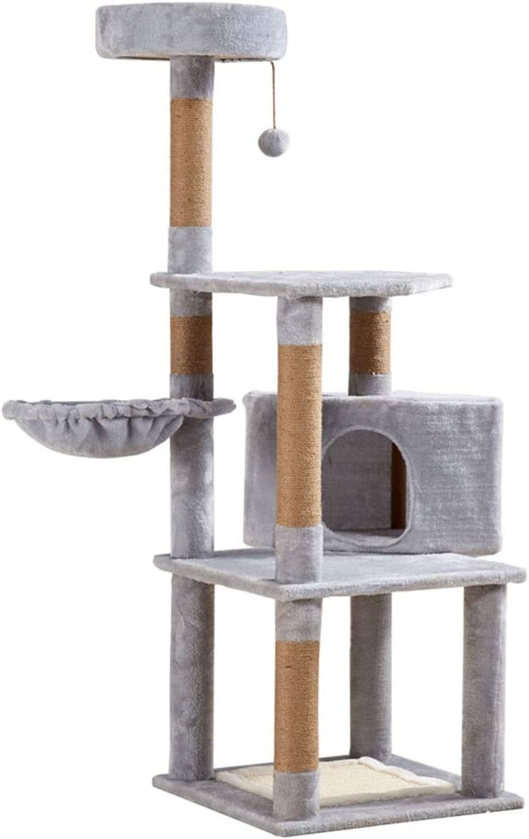 Leo2020 Cat Tree Ranking TOP19 with Posts Scratching Excellence Sisal-Covered Tower