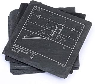 Greatest Notre Dame Plays - Slate Coasters (Set of 4)