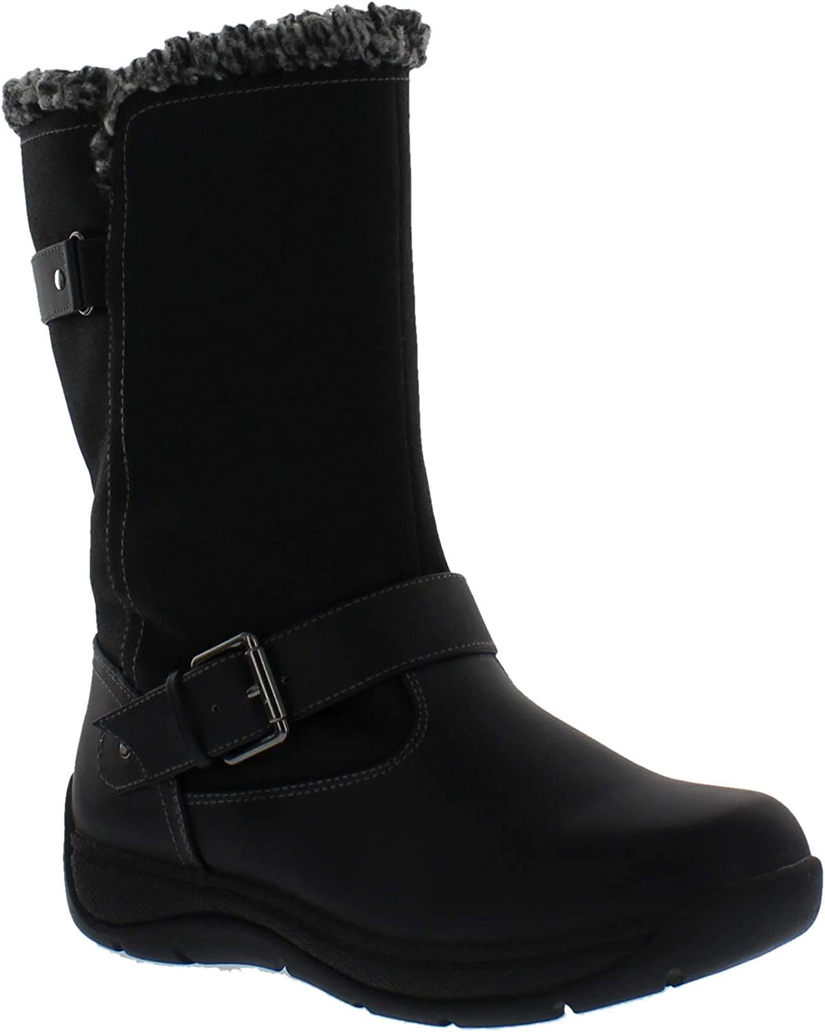 Weatherproof Womens Cold Weather Boots with Side Zipper (Alaska) Waterproof Insulated Winter Boots for Comfort, Durability - Keeps Feet Warm & Dry