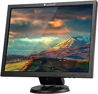 Eyoyo EYOYO 14 Inch 4:3 TFT Gaming Monitor 1024x768 BNC/HDMI/VGA/AV Input 300cd/mツイ