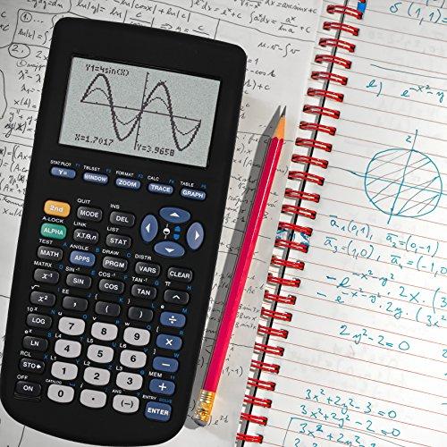 Guerrilla Silicone Case for Texas Instruments TI-83 Plus Graphing Calculator, Black Photo #7