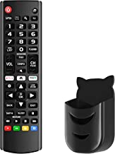 Best UniversalRemoteControl AKB75095307 Compatible with All LG LED LCD HDTV UHD 3D 4K Smart TV Models with Black Remote Holder Review