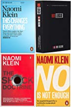 Naomi Klein Collection 4 Books Set (This Changes Everything, No Logo, The Shock Doctrine, No Is Not Enough)