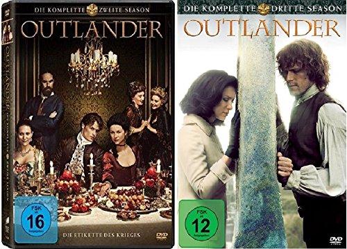 Outlander Staffel 2+3 [DVD Set]