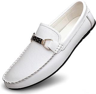 JieKrui Cuir Mocassins de Conduire Homme,Confort Penny Loafers Cuir Souple Respirante Confort Chaussure de Mode pour Busin...
