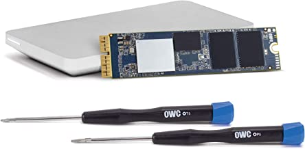 OWC 1.0TB Aura Pro X2 Complete SSD Upgrade Solution with Tools & OWC Envoy Pro Enclosure for MacBook Air (Mid 2013-2017) and MacBook Pro (Retina, Late 2013 - Mid 2015), (OWCS3DAPT4MB10K)