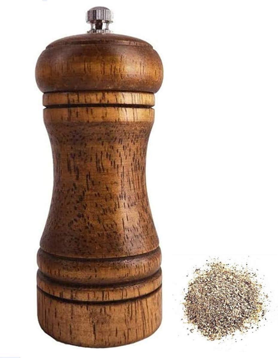 DCS Import solid wood oak grinder grinding pow manual restaurant Max 42% OFF pepper