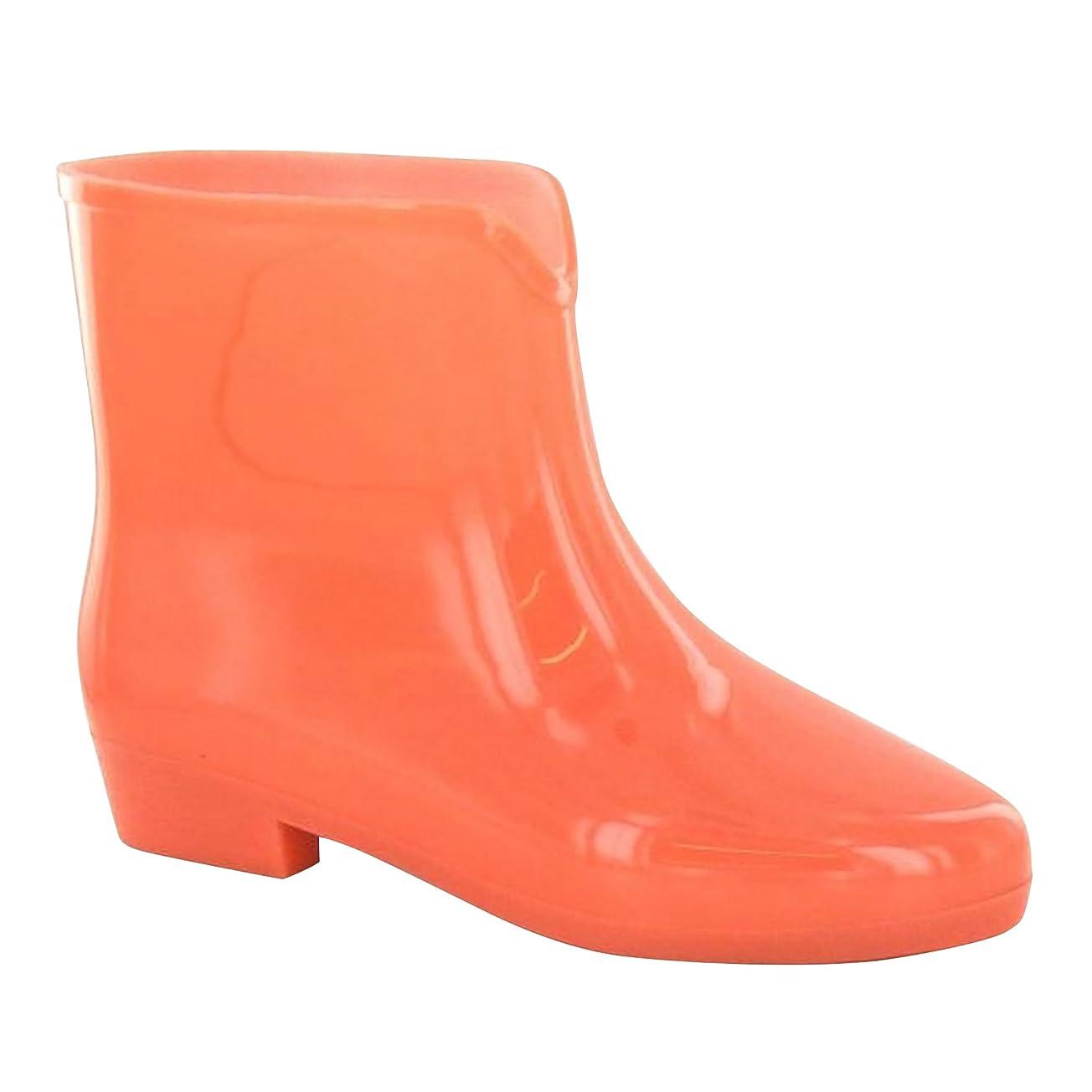 韓国ハンディキャップホールドオール(スポットオン) Spot On レディース パステル グロー?イン?ザ?ダーク アンクル丈 ウェリントンブーツ 婦人長靴 レインブーツ 女性用
