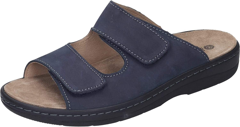 Dr. Brinkmann Herren-Pantolette blue (5)