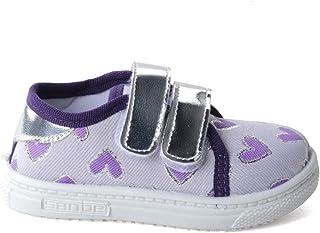 Sanbe 401 R 013 Anatomik Kız Çocuk Keten Ayakkabı MOR