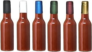 BURGUNDY Shrink Capsules for Glass Woozy Hot Sauce Bottles - Pack 30