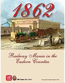 1862: Mania ferroviaria en los condados del Este: Amazon.es ...
