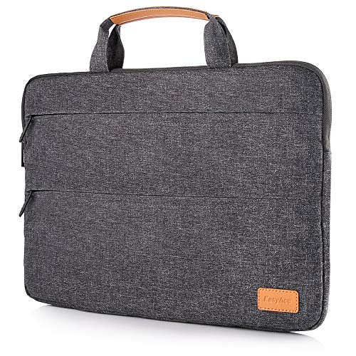 EasyAcc Laptoptasche 13-13,3 Zoll Laptophülle Wasserdicht Laptop Aktentasche Ständerfunktion für Notebook MacBook...