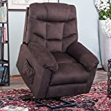 Lift Chairs for Elderly - Lift Chairs Recliners Lift Chairs Electric Recliner Chairs with Remote Control Soft PU Lounge