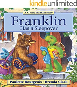Franklin Has a Sleepover (Classic Franklin Stories Book 12) (English Edition)