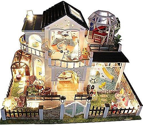 LINAG Puppenhaus H er Minipuppen Mini-Szene Zuhause Einrichtung Spielzeug M l DIY Village Zubeh Szenenspielzeug Geb emodell Geburtstagsgeschenk Doll-3127