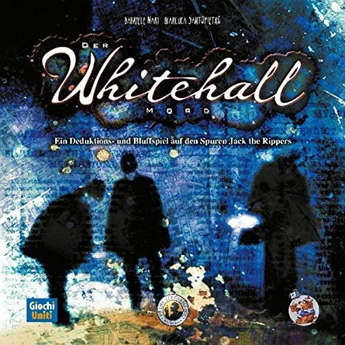Asmodee GUID0006 Der Whitehall-Mord, Brettspiel