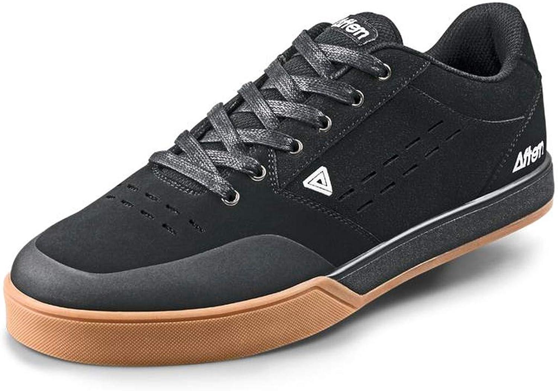 Afton Shoes Keegan Flatpedal Shoes Men Black/Gum Black/Gum Black/Gum 2019 Schuhe B07C895J8G 4ed6ea