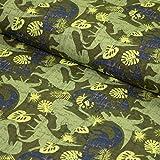 Stoff Baumwoll-Jersey - verschiedene Farben und Muster -
