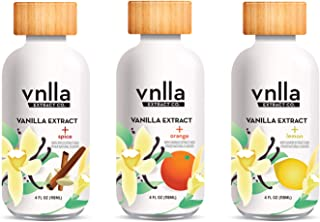 Creativity Unleashed Vanilla Extract Assortment (3-Pack) - vnlla Extract Co. - Sustainably Sourced from Madagascar | Perfe...