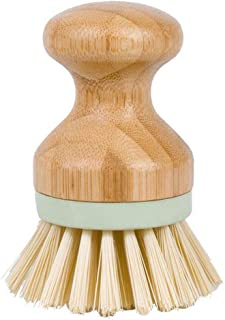 YUEMING Cepillo para Lavar Platos Cepillo de Maceta Cepillo de Limpieza de Madera Vajilla de Cocina Cepillo de Limpieza