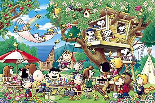 1000 Piece Jigsaw Puzzle Peanuts Tree House (50x75cm) by Puzzles