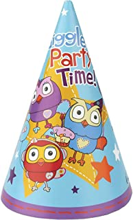 Giggle And Hoot Party Hats Pack Of 8 One Size