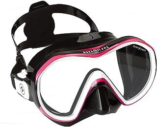 AQUALUNG(アクアラング) リヴィール X1 (1眼タイプ) (Black/Pink) ダイビングマスク
