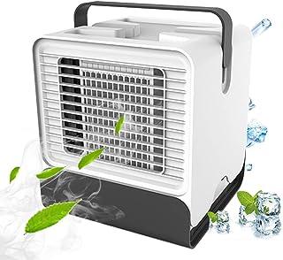 VOUM Personal Air Cooler Fan, Portable Air Conditioner, Humidifier, Box Fan,Purifier 3 in 1 Evaporative Cooler,Mini AC USB...