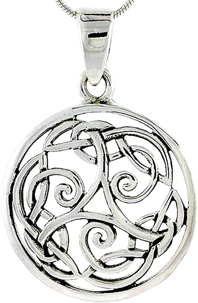Sterling Silver Celtic Knot 16 1 Charm inch 2021 autumn and winter new 40% OFF Cheap Sale
